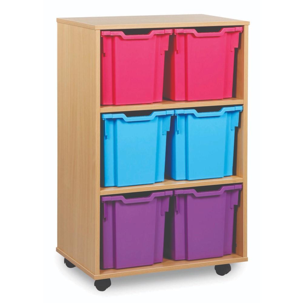 Jumbo Tray Storage