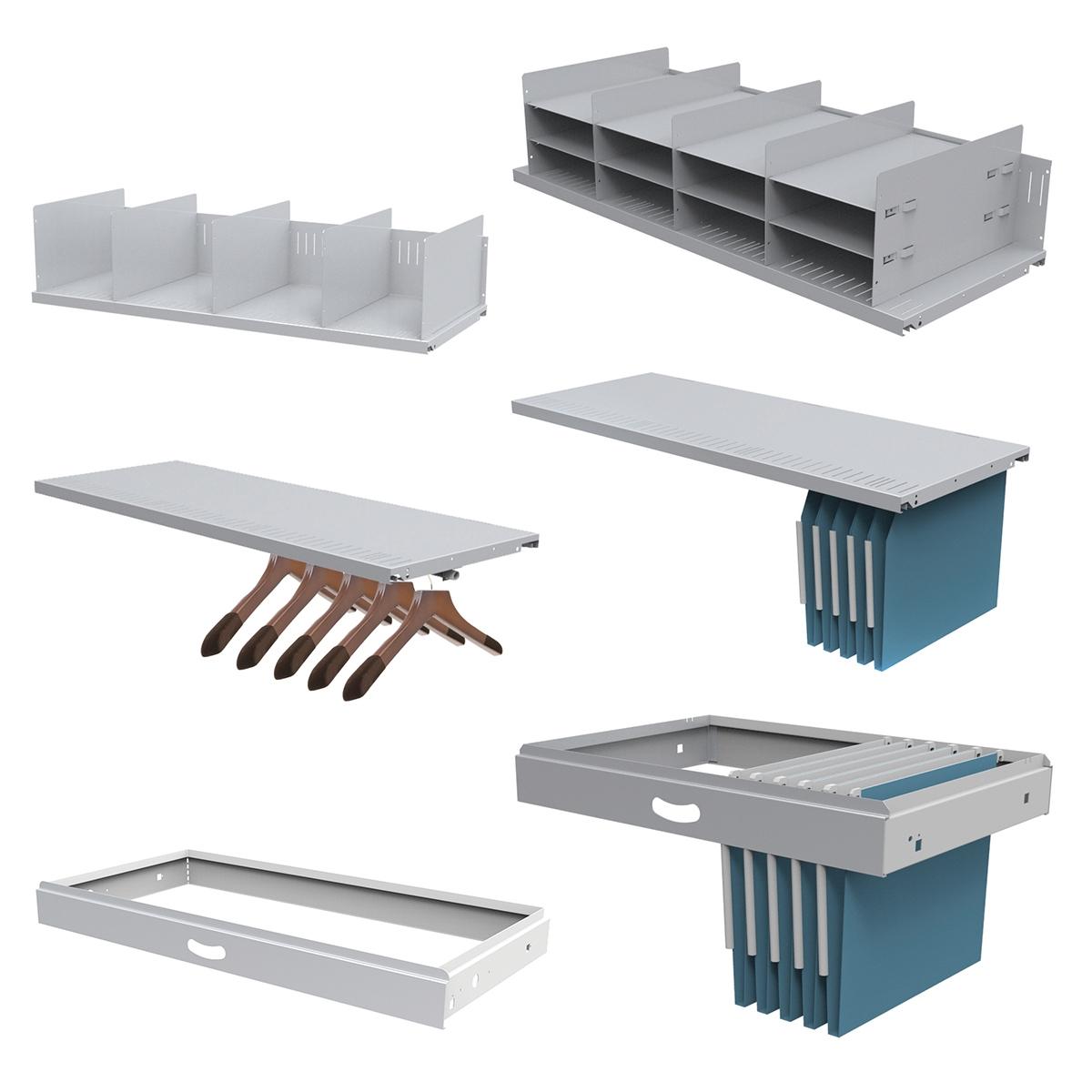 Tambour Unit & Cupboard Accessories