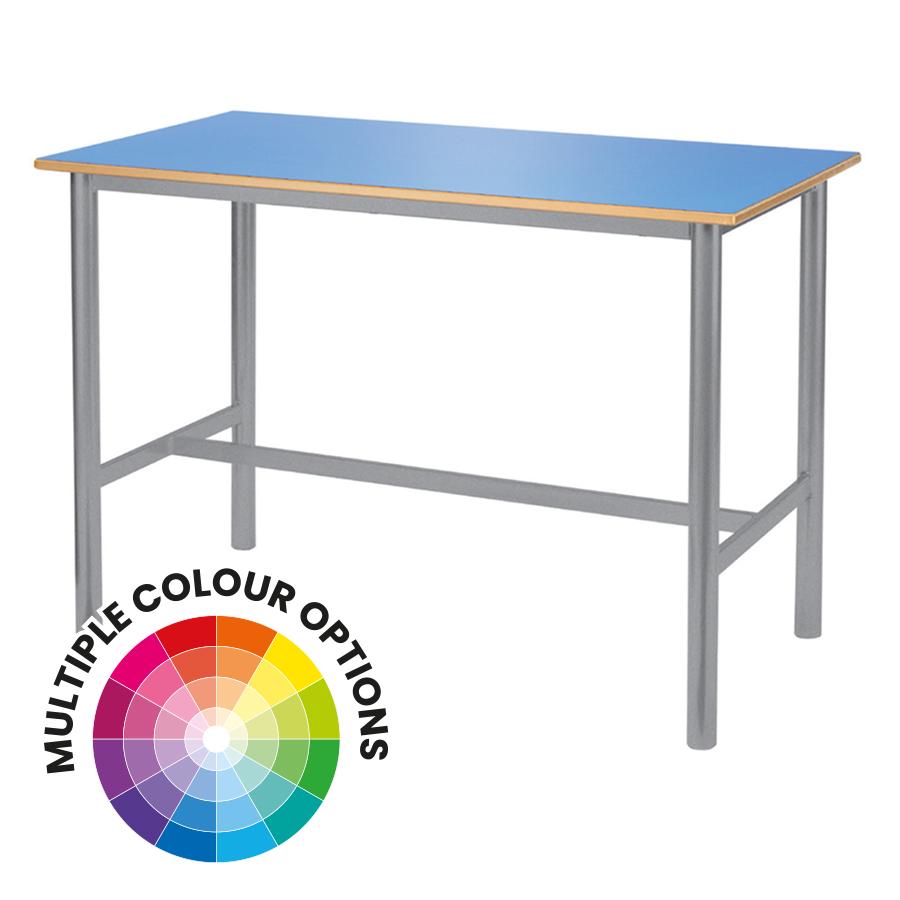 Art & Craft Tables - Sprayed PU Edge