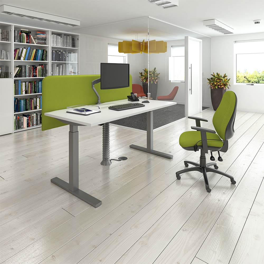 Single Operator Sit Stand Desks