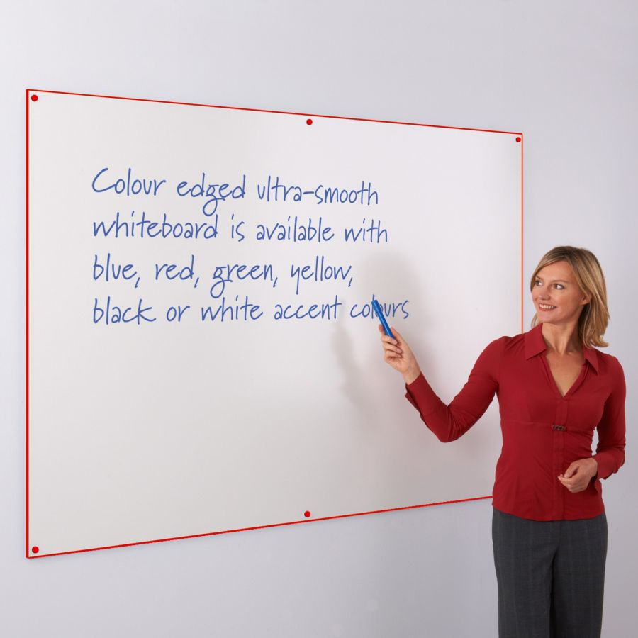 Frameless Whiteboards and Whiteboard Walls