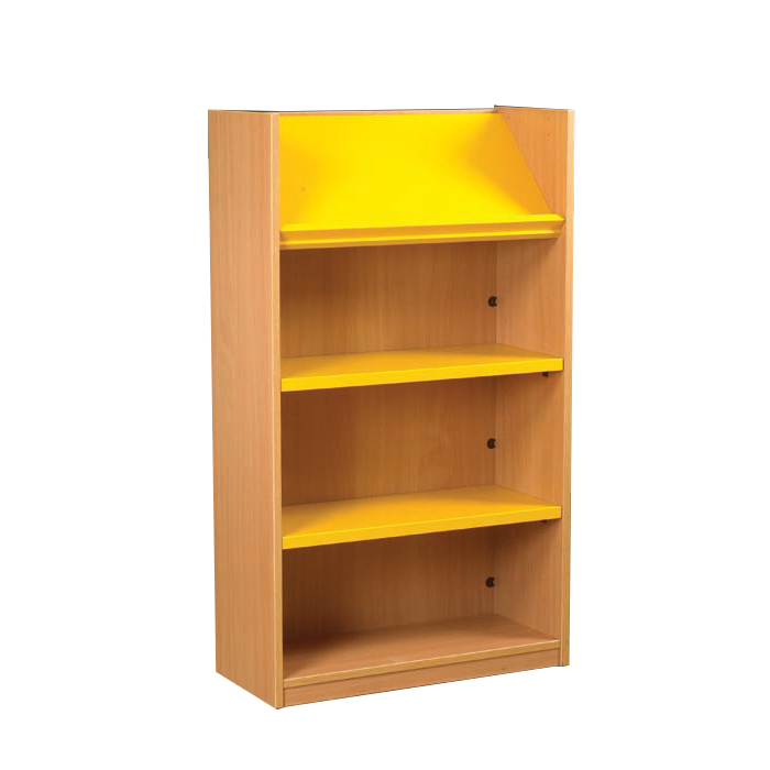 Single And Double Display Top Bookcases