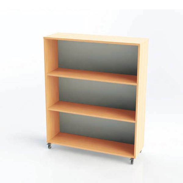 Single And Double Sided Straight Bookcases