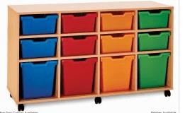 12 Variety Storage Tray Unit