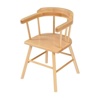 Solid Beech Captains Chairs