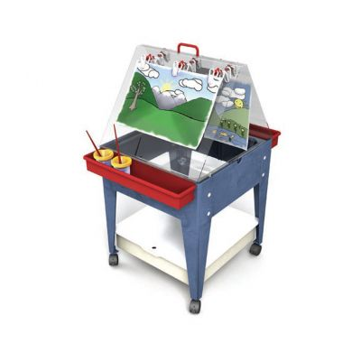 2 Station Easel Sand And Water Table