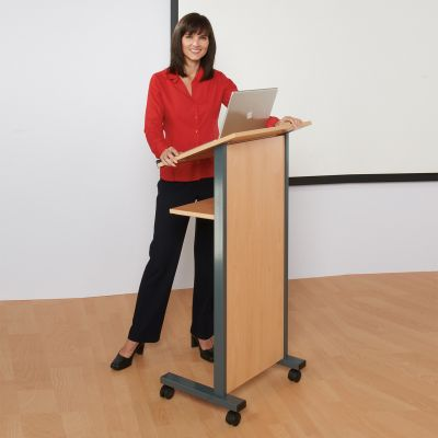 Beech Panel Front Lectern