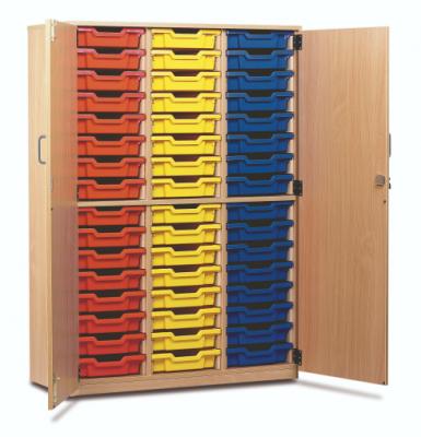 48 Tray Tall Storage Unit