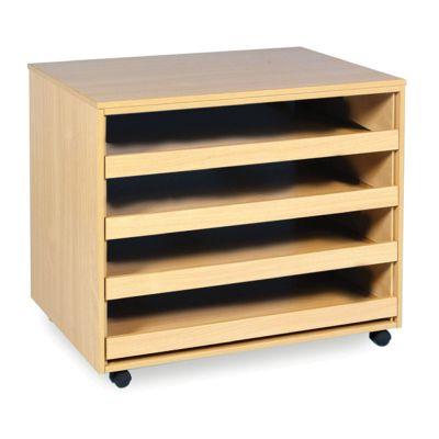 4 / 6 Drawer Plan Chest Storage Units