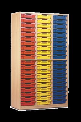 60 Tray Tall Storage Unit