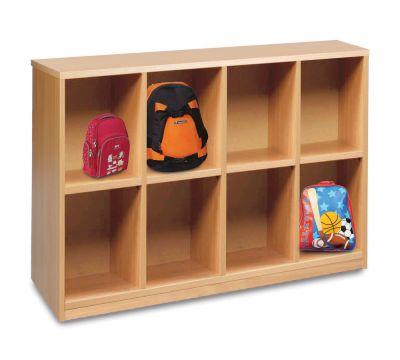 Cloakroom Bag Compartment Units