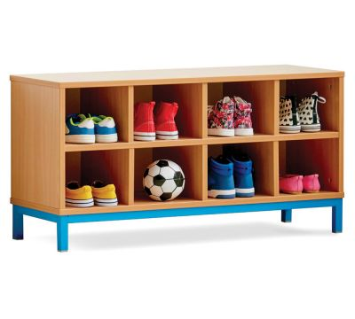 Cloakroom Bench Shoe Units