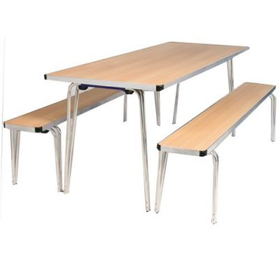 Gopak Contour Folding Table - 915mm Long