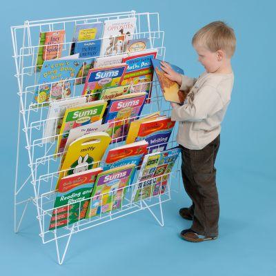 Floor Standing Book Racks