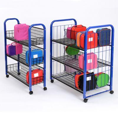 Metal Framed Lunchbox Trolleys
