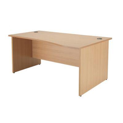 Addition Wave Panel End Desk