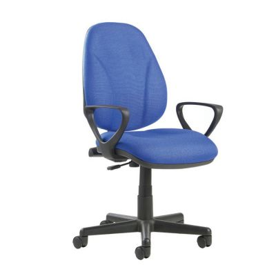 Bamboo Fabric Operator Chair