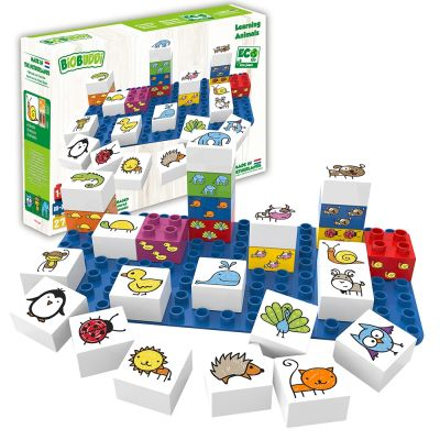 Learning Animals Building Blocks
