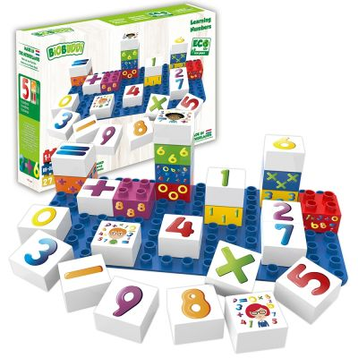 Learning Numbers Building Blocks