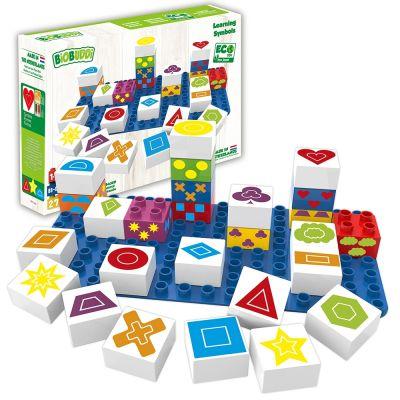 Learning Symbols Building Blocks
