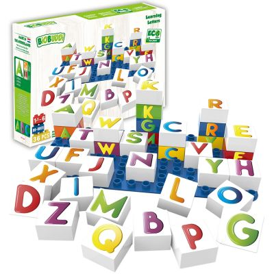 Learning Letters Building Blocks
