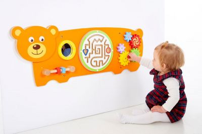 Bear Activity Wall Panels
