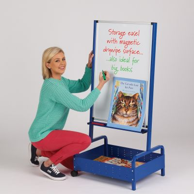 Junior big book storage easel