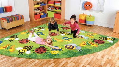 Back To Nature Bug Corner Placement Carpet