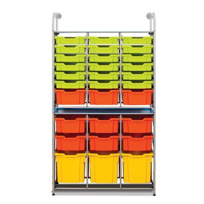 Callero metal Combo Unit with Shallow, Deep and Jumbo Trays