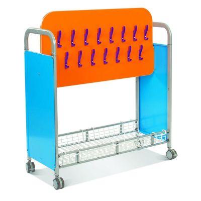 Callero Plus Cloakroom Trolley