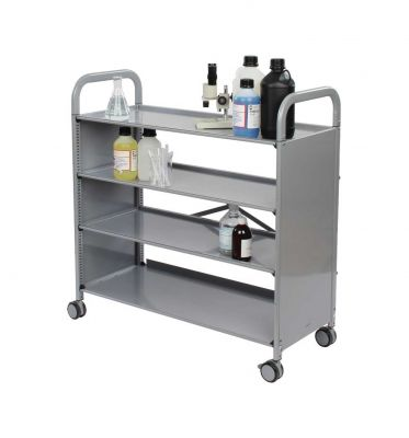 Callero Plus Flat Shelf Unit with 4 shelves