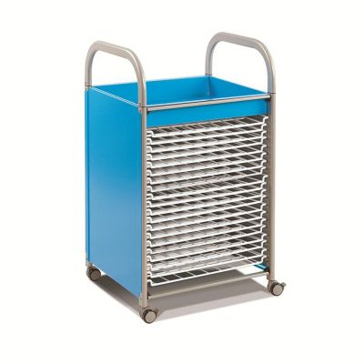 Callero Metal Art Storage Trolley with Drying Racks