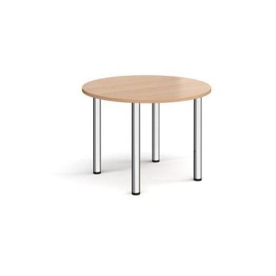 Circular Radial Leg Meeting Table