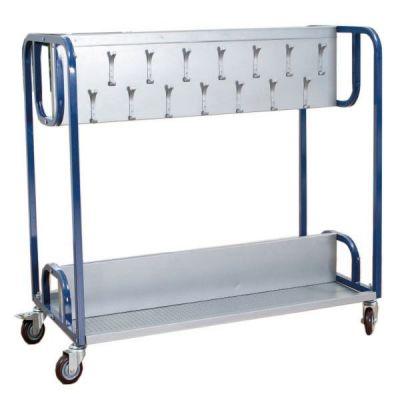 Tuf Double Cloakroom Trolley