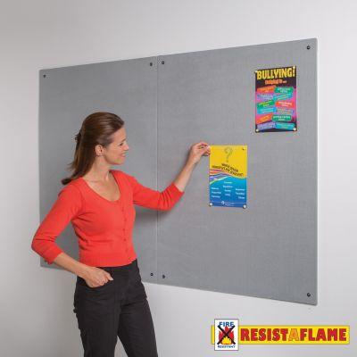 Resist-a-Flame Unframed Noticeboard