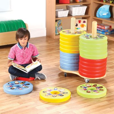 Children of the World Donut Cushions & Trolley