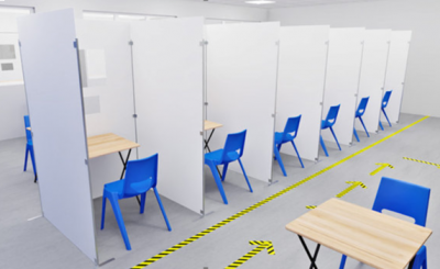 Covid Testing & Vaccination Booth