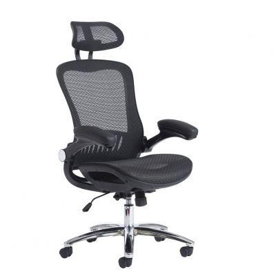 Curva Mesh Back Operator Chair