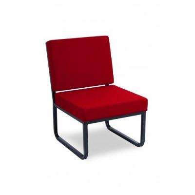 Premium Skid Base Reception Chair