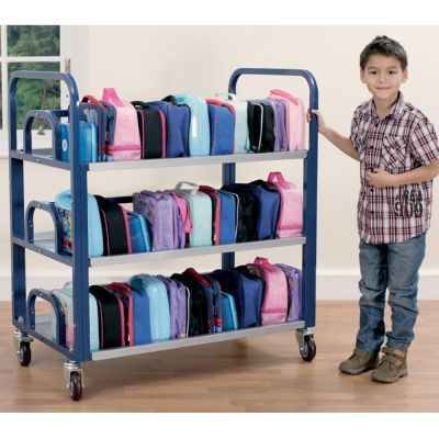 TUF Classroom Double Lunchbox Trolley