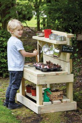 Millhouse Outdoor Wooden Play Kitchen