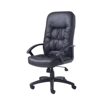 Duke Leather Faced Managers Chair
