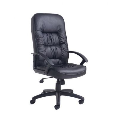 King Leather Faced Managers Chair