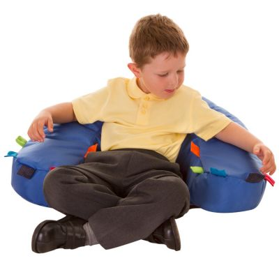 Sensory Touch Tag Cushions