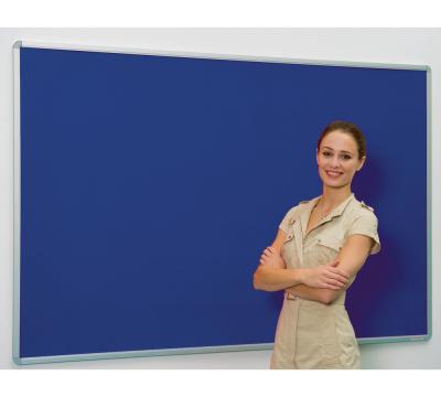 Flameshield Colourtex Aluminium Framed Noticeboard