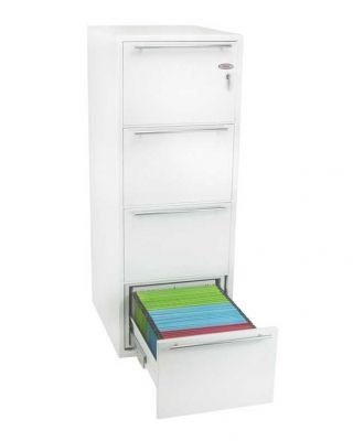 """Archivo Fire 25"""" File Cabinet - 4 Draw"""