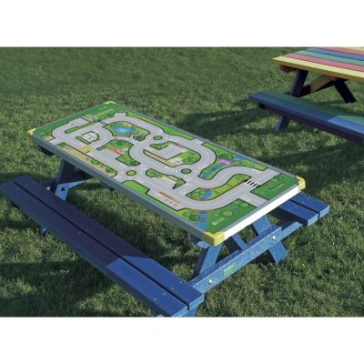 Junior Picnic Bench with Gameboard