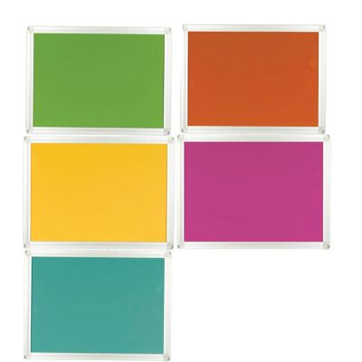 High Pressured Laminate HPL Coloured Whiteboards