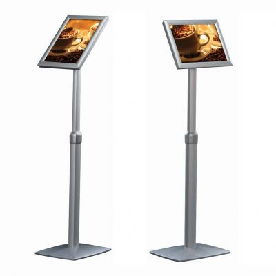 BusyGrip telescopic information stand