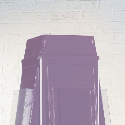 Vibrant 4 Sided Revolving Leaflet Dispenser - Optional Header
